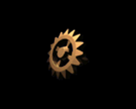 Image of Gold Cogwheel