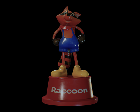 Image of Mr. Raccoon
