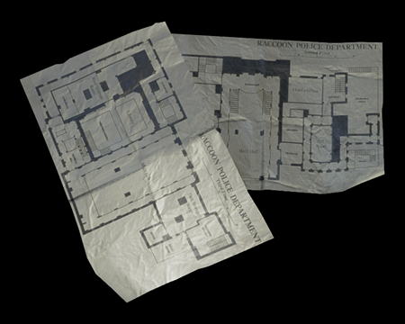 Image of Police Station Upper Floors Map