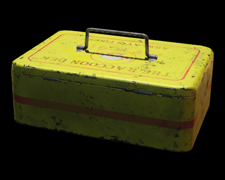 Image of Tin Storage Box