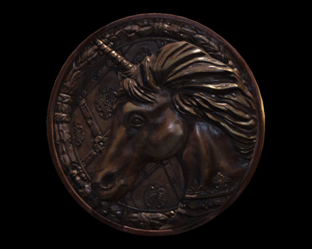 Image of Unicorn Medallion