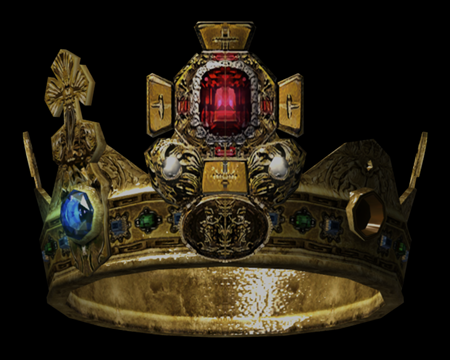 Image of Crown with an insignia