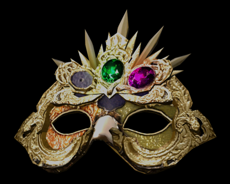 Image of Elegant Mask w/(G,P)