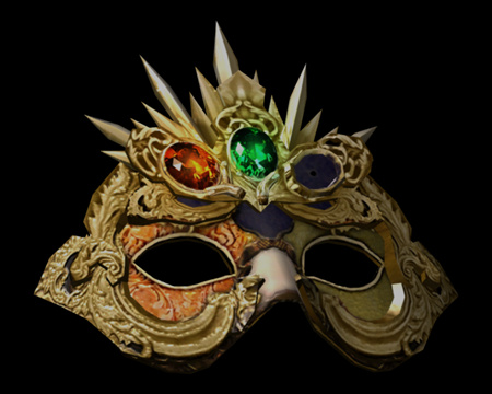 Image of Elegant Mask w/(G,R)