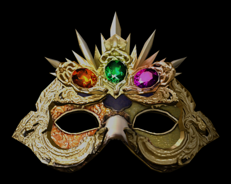 Image of Elegant Mask w/(R,G,P)