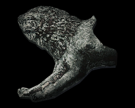 Image of Lion Ornament