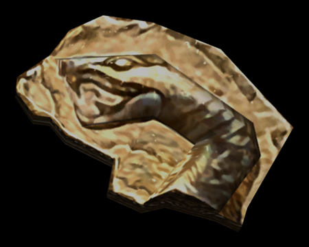 Image of Piece of the Holy Beast, Serpent