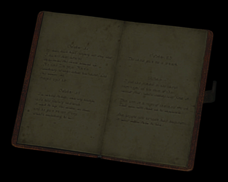 Image of Marguerite's Notebook