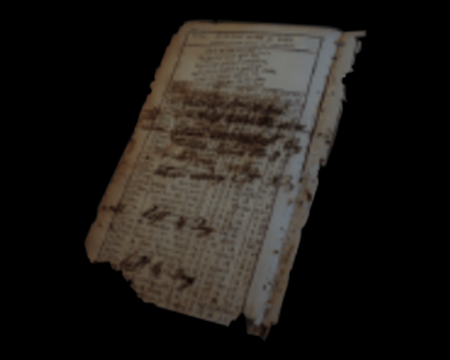 Image of Piece of Memo