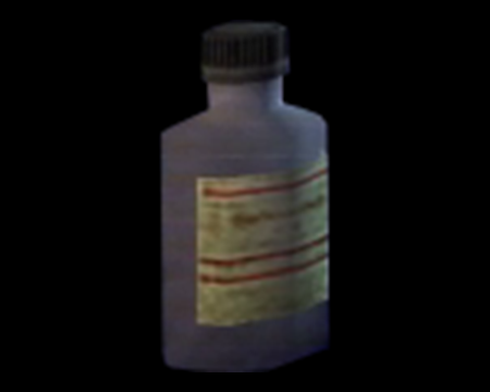 Image of Empty Chemical Bottle