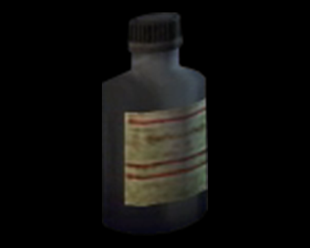Image of Gray Chemical Bottle