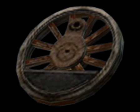 Image of Model Train Wheel
