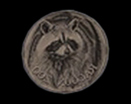 Image of Mr. Raccoon Medal