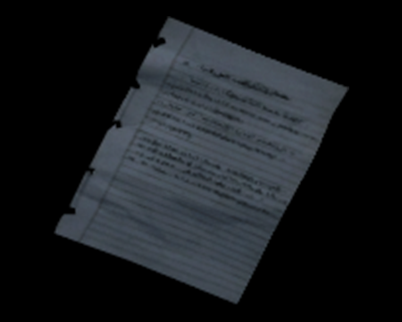 Image of Pedro's Notes on the Bracelet