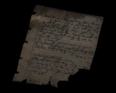 Image of Prisoner's Letter