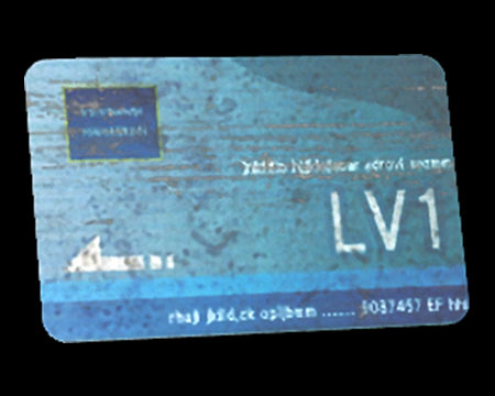 Image of Security Card Level 1