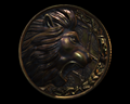 Image of Lion Medallion