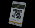 Image of Weapons Locker Key Card