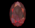 Image of Ruby (Oval)
