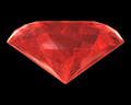 Image of Red Gemstone