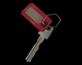 Image of Key With A Red Tag