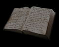 Image of Botanist's notebook