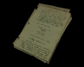 Image of Researcher's journal