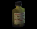 Image of Yellow Chemical Bottle
